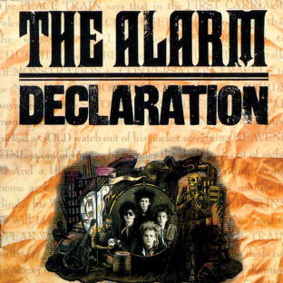 Alarm (The) - Declaration (LP) (VG+/EX-)